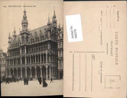 606378,Brüssel Bruxelles Maison Du Roi Könighaus - Belgien