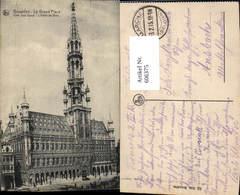 606375,Brüssel Bruxelles La Grand Place L Hotel De Ville Rathaus - Belgien
