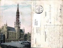 606373,Brüssel Bruxelles Hotel De Ville Rathaus - Belgien