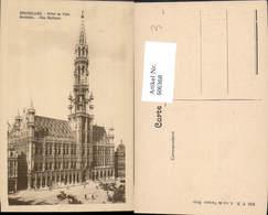 606368,Brüssel Bruxelles Hotel De Ville Rathaus - Belgien