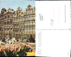 606362,Foto Ak Brüssel Bruxelles Un Coin De La Grand Place Town Square Tulpen Blumen - Belgien