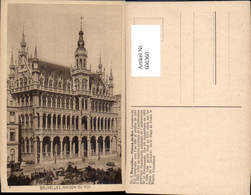 606360,Brüssel Bruxelles Maison Du Roi Könighaus - Belgien