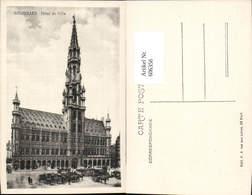 606356,Brüssel Bruxelles Hotel De Ville - Belgien