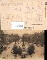 606348,Brüssel Bruxelles Place De Brouckere Et Boulevard Anspach - Belgien
