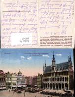 606347,Brüssel Bruxelles Marktplatz Zünfthäuser U. Blumenmarkt Grand Place Maison Des - Belgien