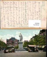 606343,Brüssel Bruxelles Place Anneessens Statue - Belgien