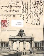 606336,Brüssel Bruxelles Arcade Du Cinquantenaire Arkade D. 50Jährigen Belgischen Una - Belgien