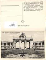 606335,Brüssel Bruxelles Arcade Du Cinquantenaire Arkade D. 50Jährigen Belgischen Una - Belgien