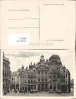 606313,Brüssel Bruxelles Maisons Du Grand Duc Charles De Lorraine Et Du Prince D Oran - Belgien