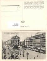 606310,Brüssel Bruxelles Place De Brouckere Square Brouckere Straßenbahn - Belgien