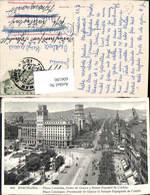 606190,Barcelona Plaza Cataluna Paseo De Gracia Y Banco Espanol De Credito Spain - Spanien