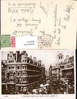606155,Foto Ak London Tottenham Court Road Showing Y.M.C.A. Great Britain - England