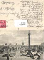 606148,London National Gallery Trafalgar Square Statue Great Britain - England