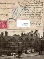 606146,London Old Staple Inn Holborn Kutsche Great Britain Stempel Nachgebühr Bezahlt - England