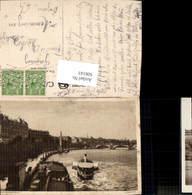606143,London Victoria Embankment Schiff Dampfer Great Britain - England