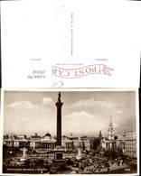 606112,Foto Ak London Trafalgar Square Statue Great Britain - England