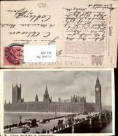 606109,London Houses Of Parliament Big Ben Great Britain Pub Raphael Tuck Son 1075 - England