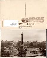 606102,Foto Ak London Trafalgar Square And Whitehall Statue Great Britain - England