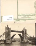 606101,London Tower Bridge Brücke Schiffe Great Britain - Ohne Zuordnung