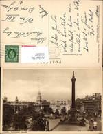 606097,London Trafalgar Square Statue Great Britain - Ohne Zuordnung