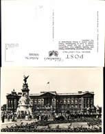 606088,Foto Ak London Victoria Memorial And Buckingham Palace Great Britain - England
