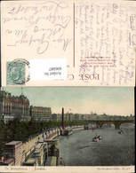 606087,London The Embankment Schiff Dampfer Great Britain - England