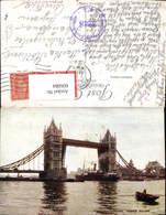 606084,London Tower Bridge Brücke Schiff Dampfer Great Britain - Ohne Zuordnung