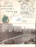 606083,London The Embankment Schiff Dampfer Raddampfer Great Britain - England