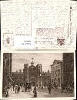 606076,Künstler Ak W. Matthison London St James Palace From St James Street Pub Rapha - England