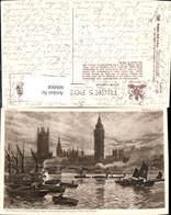 606068,W. Matthison The Houses Of Parliament Westminster Bridge London Pub Raphael Tu - England