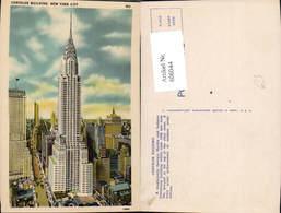 606044,New York City Chrysler Building New York - NY - New York