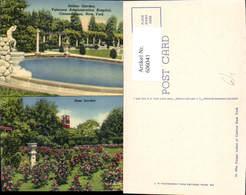 606041,Mehrbild Ak Italian Garden Veterans Administration Hospital Canandaigua New Yo - NY - New York