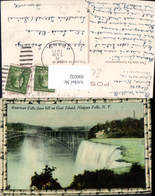 606032,American Falls From Hill On Goat Island Niagara Falls Wasserfall New York - NY - New York