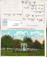 606021,The Fountain In Fulton Park Hempstead Long Island New York - NY - New York