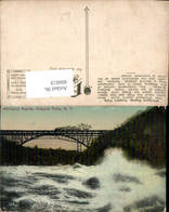 606019,Whirlpool Rapids Niagara Falls Eisenbahn Brücke New York - NY - New York