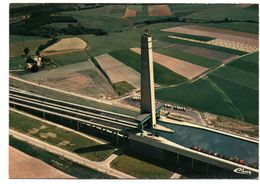 Carte Postale Photo Vue Aérienne Ronquières Plan Incliné, Hellend Vlak.........c02 - Braine-le-Comte