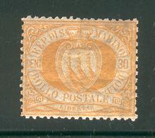 SAN MARINO 1892 Scott Cat. No. 16 MNH - San Marino