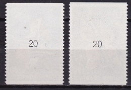 GREECE 1989 Europe CEPT Complete MNH Set With Controle Numbers 20 On Gum Vl. 1778 / 1779 A - Unused Stamps