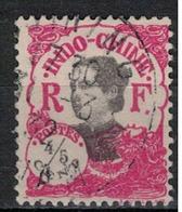 INDOCHINE          N°  YVERT   99      OBLITERE       ( O   3/45 ) - Indochina (1889-1945)