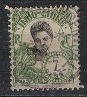 INDOCHINE          N°  YVERT   106  ( 4 )   OBLITERE       ( O   3/46 ) - Indochina (1889-1945)