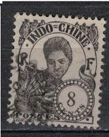 INDOCHINE          N°  YVERT   107  OBLITERE       ( O   3/46 ) - Indochina (1889-1945)