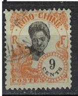 INDOCHINE          N°  YVERT   108  OBLITERE       ( O   3/46 ) - Indochina (1889-1945)