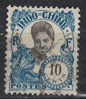 INDOCHINE          N°  YVERT   109  OBLITERE       ( O   3/46 ) - Indochina (1889-1945)