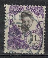 INDOCHINE          N°  YVERT   110  OBLITERE       ( O   3/46 ) - Indochina (1889-1945)