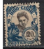 INDOCHINE          N°  YVERT   113  OBLITERE       ( O   3/46 ) - Indochina (1889-1945)
