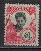 INDOCHINE          N°  YVERT   114  OBLITERE       ( O   3/46 ) - Indochina (1889-1945)