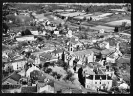 Vergt  (24 Dordogne) Vue Aérienne L'église Et La Place - France