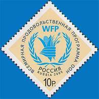 Russia 2009 United Nations Worldwide Food Program.MNH - Unused Stamps