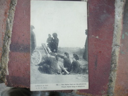 Guerre 14.18 Nos Alpins Tirant Sur Des Aerplanes - Guerre 1914-18