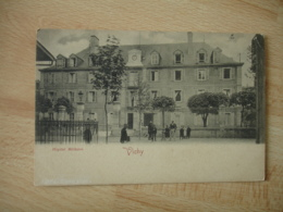 Vichy Hopital Militaire Carte Dos Simple - Vichy